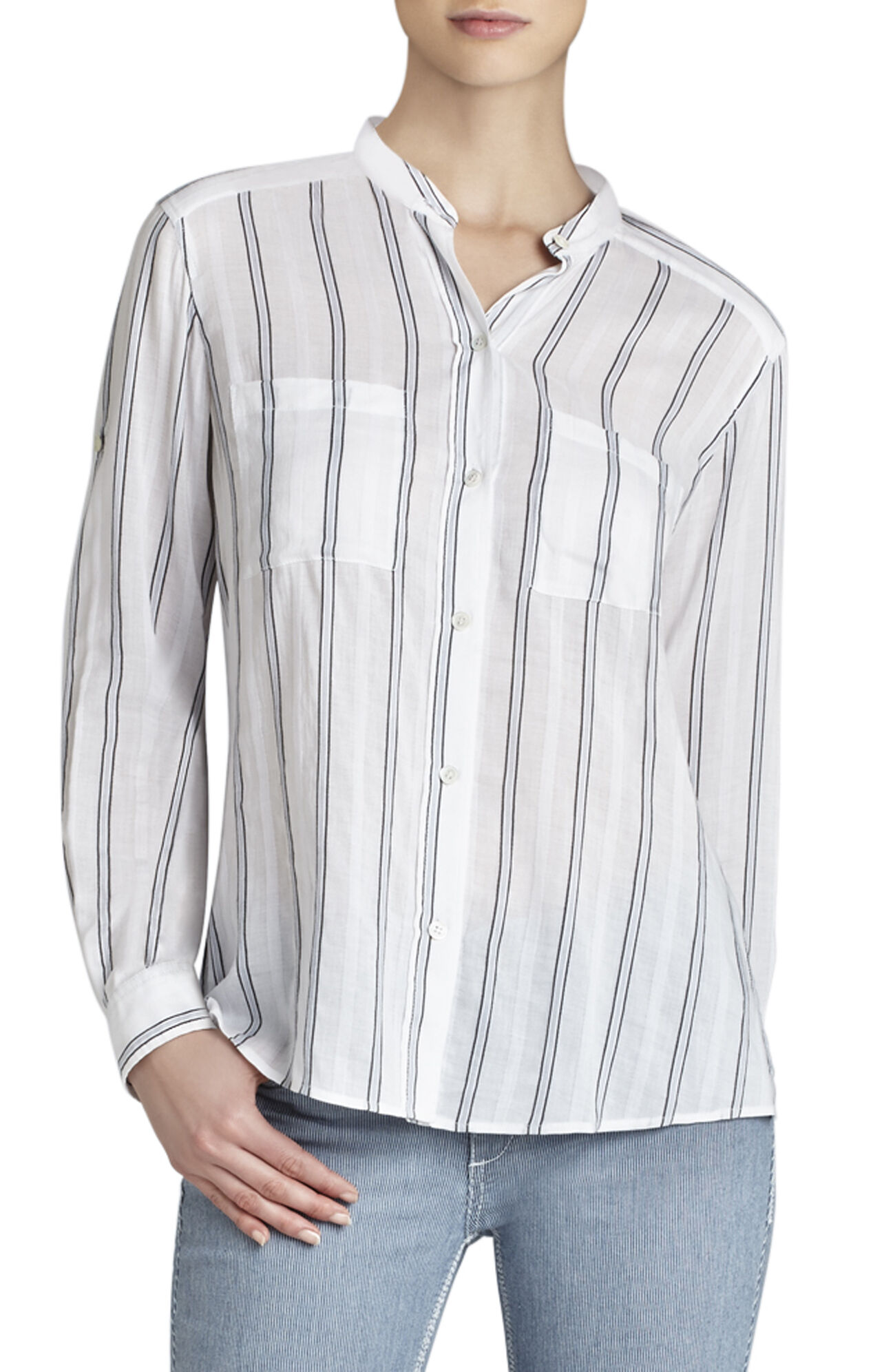 Gibson Cargo-Pocket Long-Sleeve Shirt