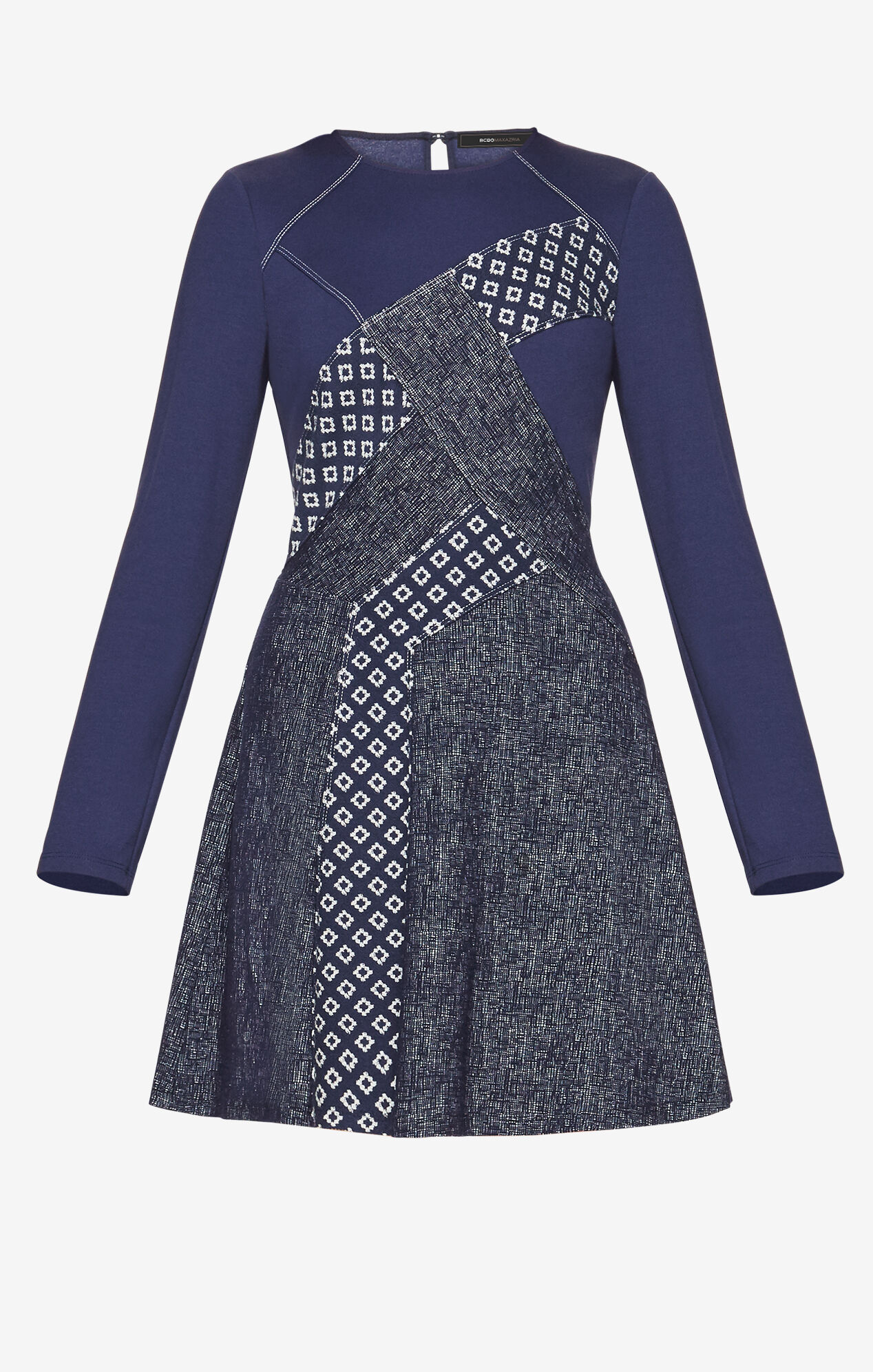 Melis Patchwork Dress