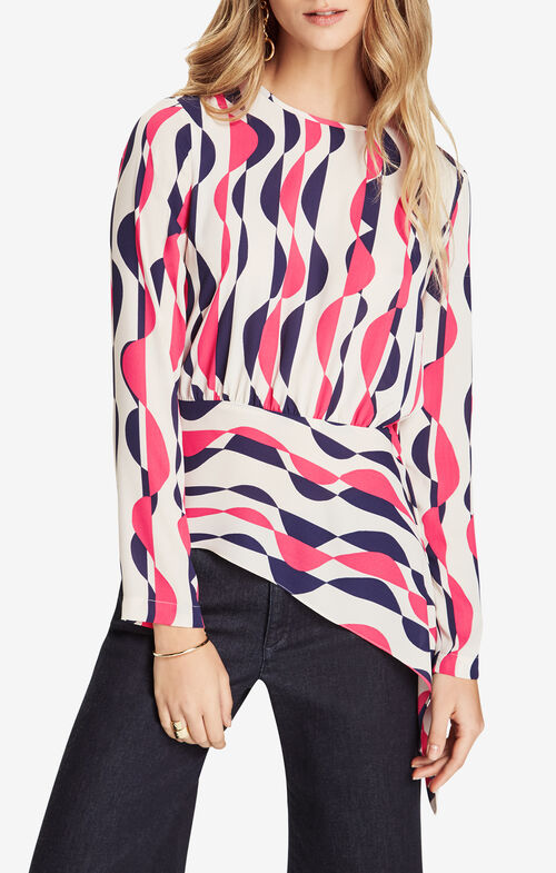 Eugenie Deco-Printed Top