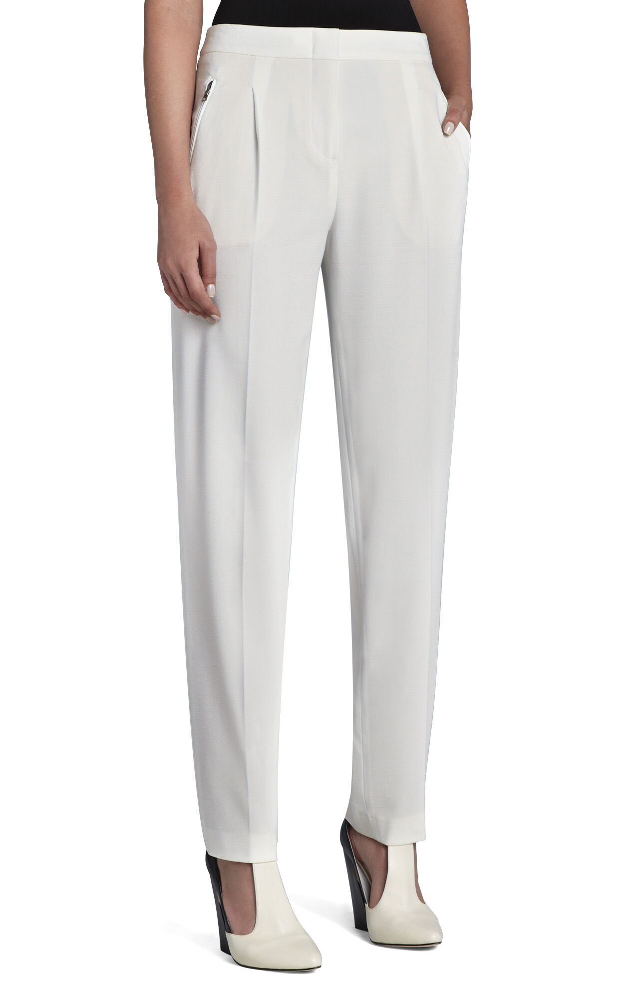 Drake Zipper-Pocket Relaxed Trouser