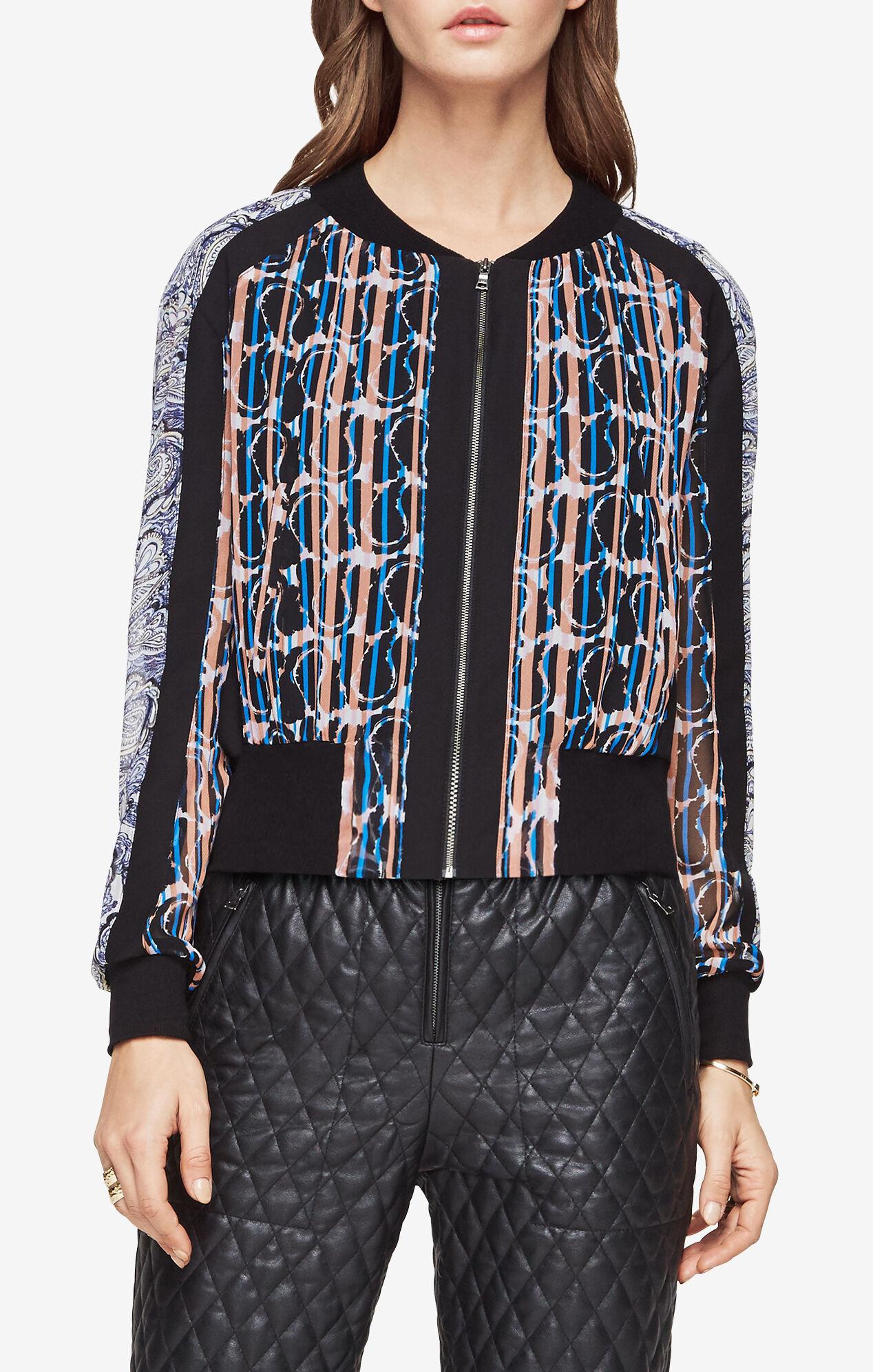 Harrison Paisley-Print Jacket