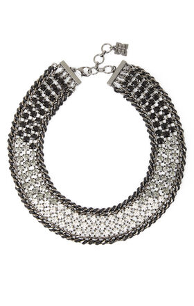Ombre-Stone Statement Necklace