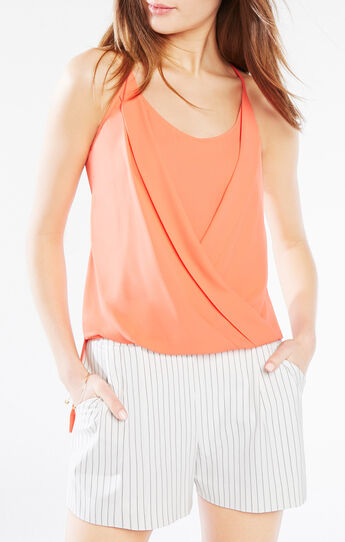 Sayge Wrap Tank Top