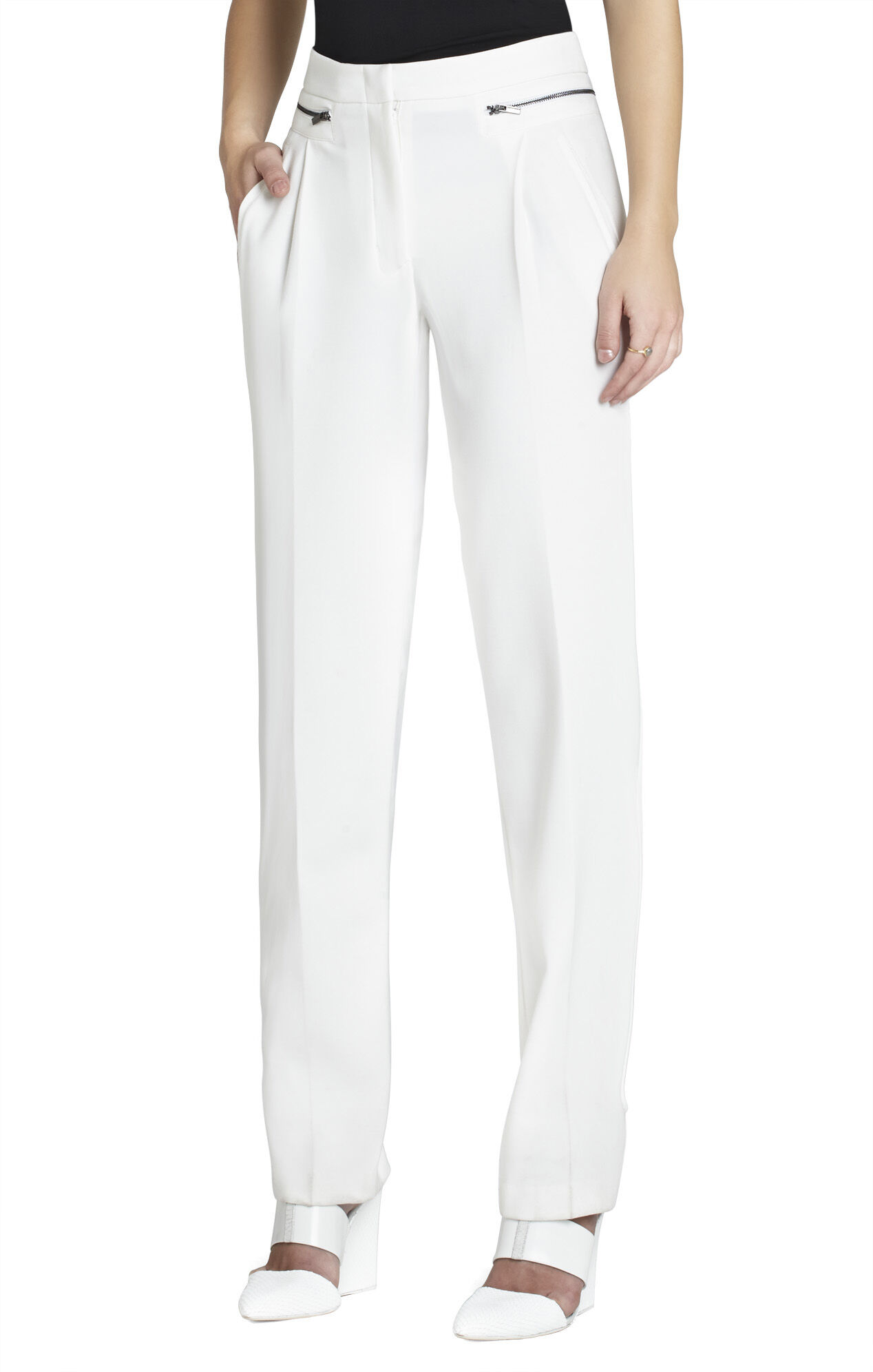 Breena Pleated-Front Trouser