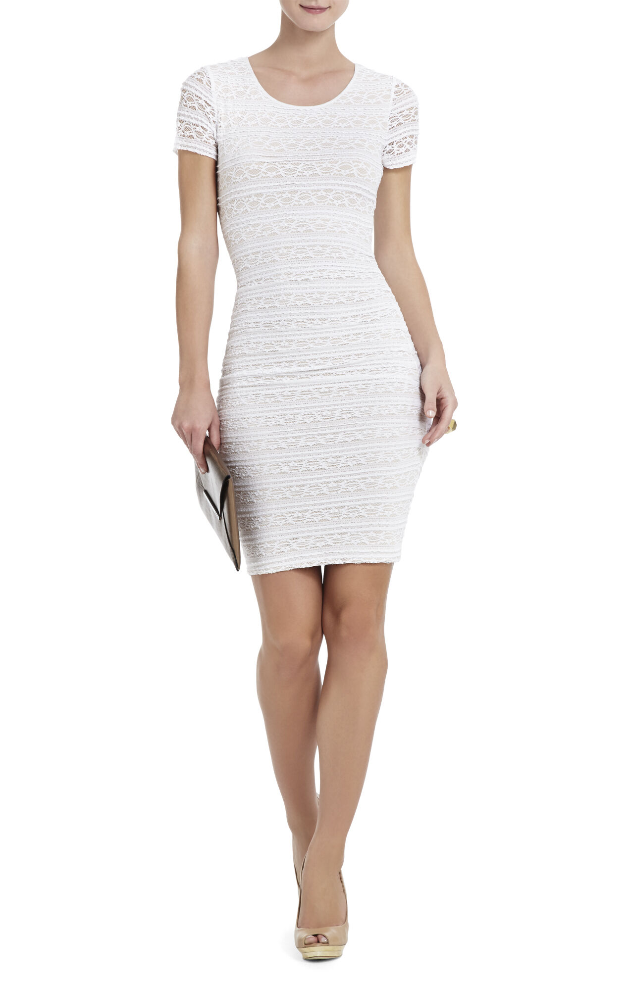 Vivia Lace Cocktail Dress
