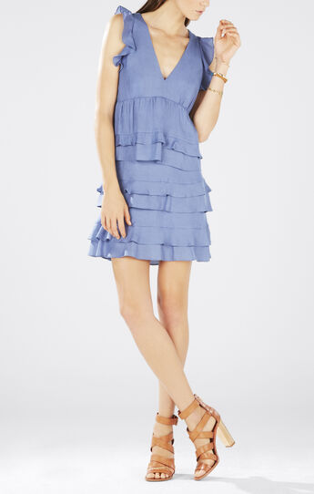 Ritza Tiered Ruffle Dress