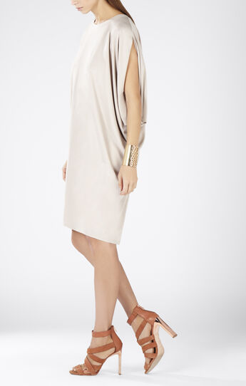 Monet Asymmetrical Draped Dress