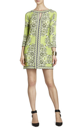 Avila Printed Sheath Dress