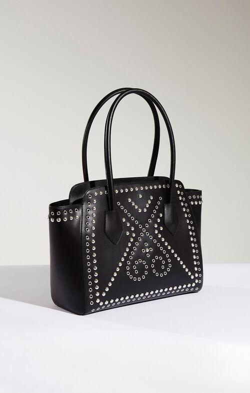Izabella Studded Leather Tote