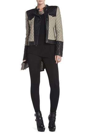 Keith Quilted Moto Jacket