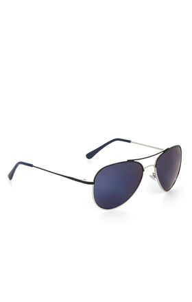 Two-Tone Aviator Sunglasses
