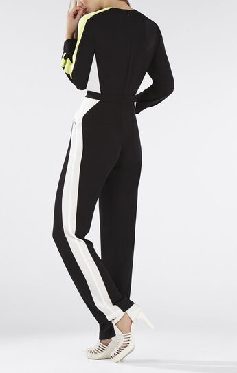 Katharine Color-Blocked Jumpsuit