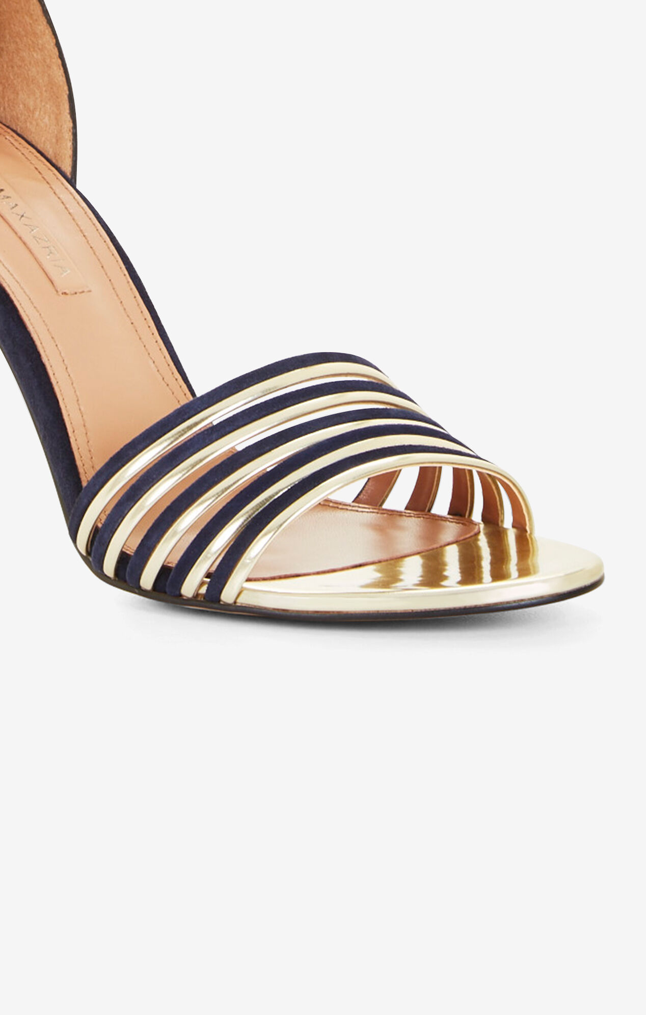Deyla Suede Metallic Sandal