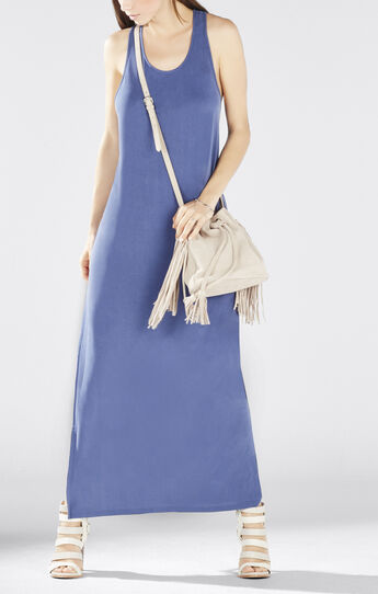 Raeghan Twisted Back Tank Maxi Dress