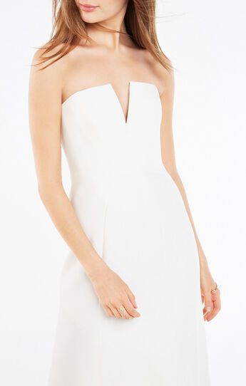 Michaella Strapless Gown