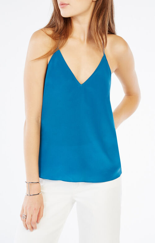 Lenor Lace-Trim Tank Top