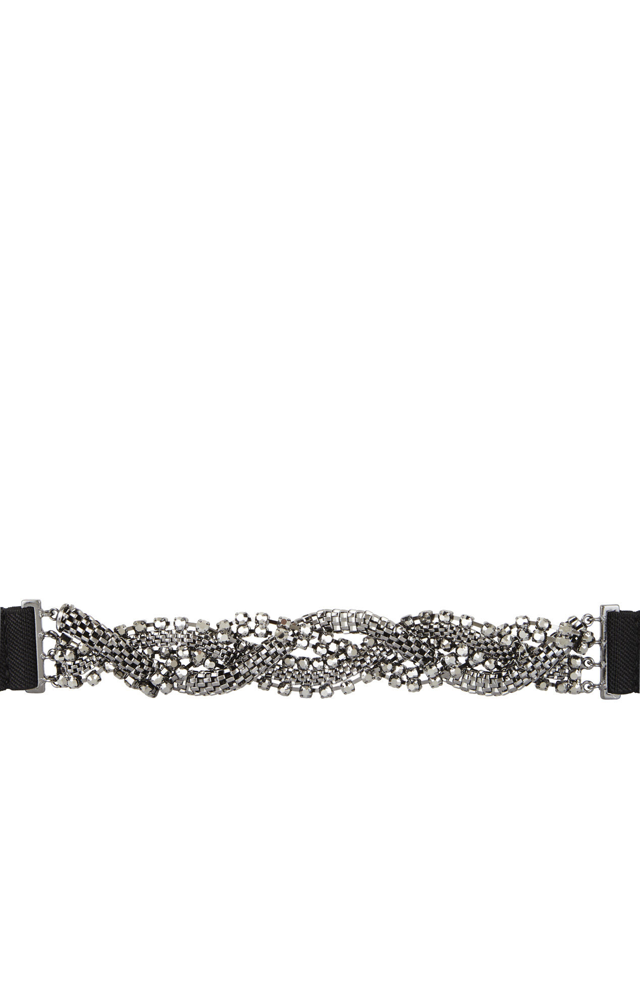 Stone-Chain Waist Belt