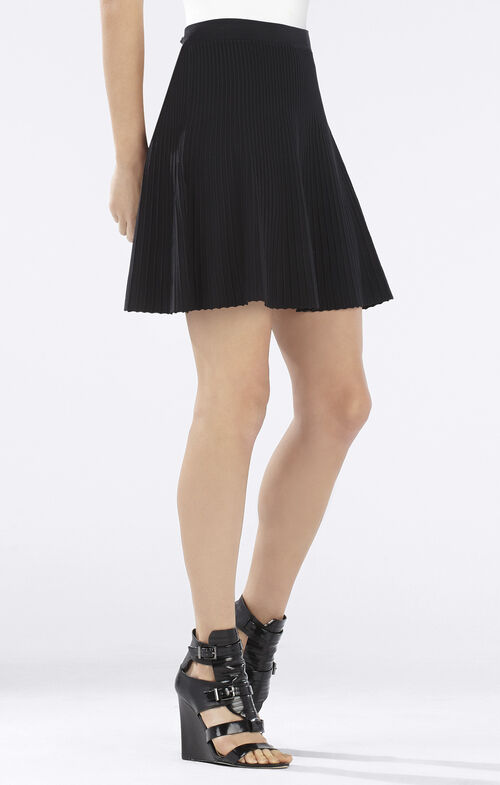 Kelli Ottoman A-Line Skirt