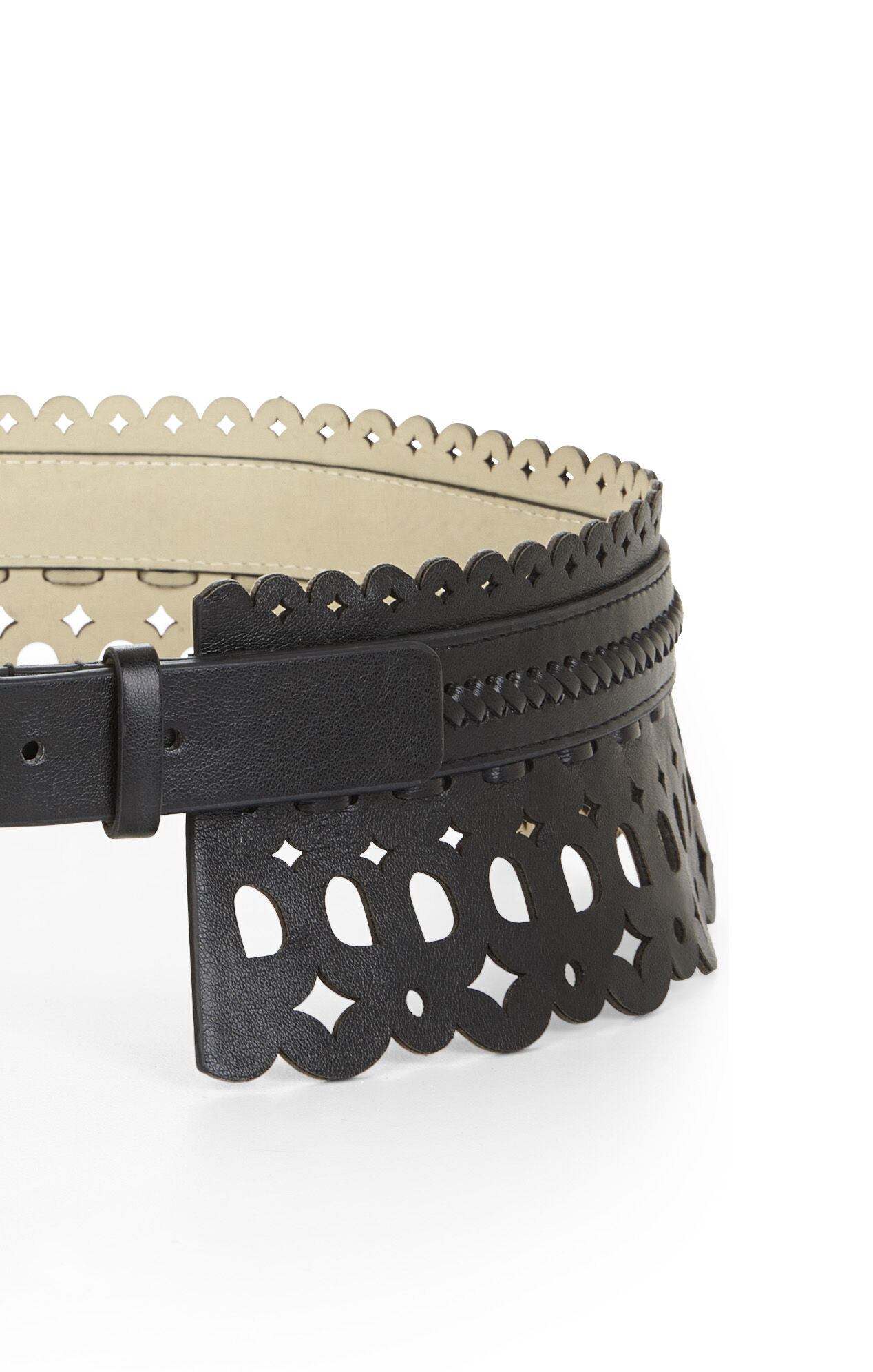 Scallop Waist Belt