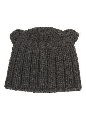 Chunky Ribbed-Knit Beanie