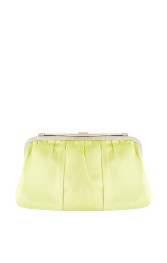 Cecily Reversible Satin Clutch
