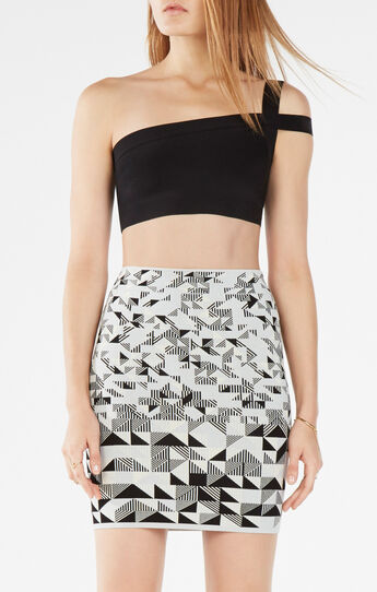 Jacky One-Shoulder Crop Top
