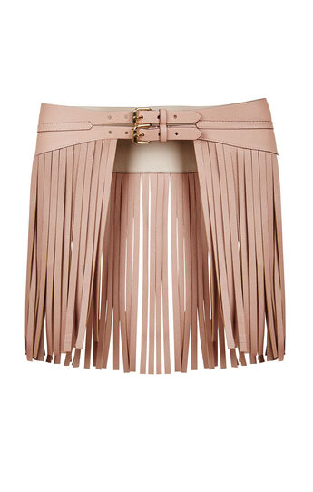 Fringe Contour Waist Belt