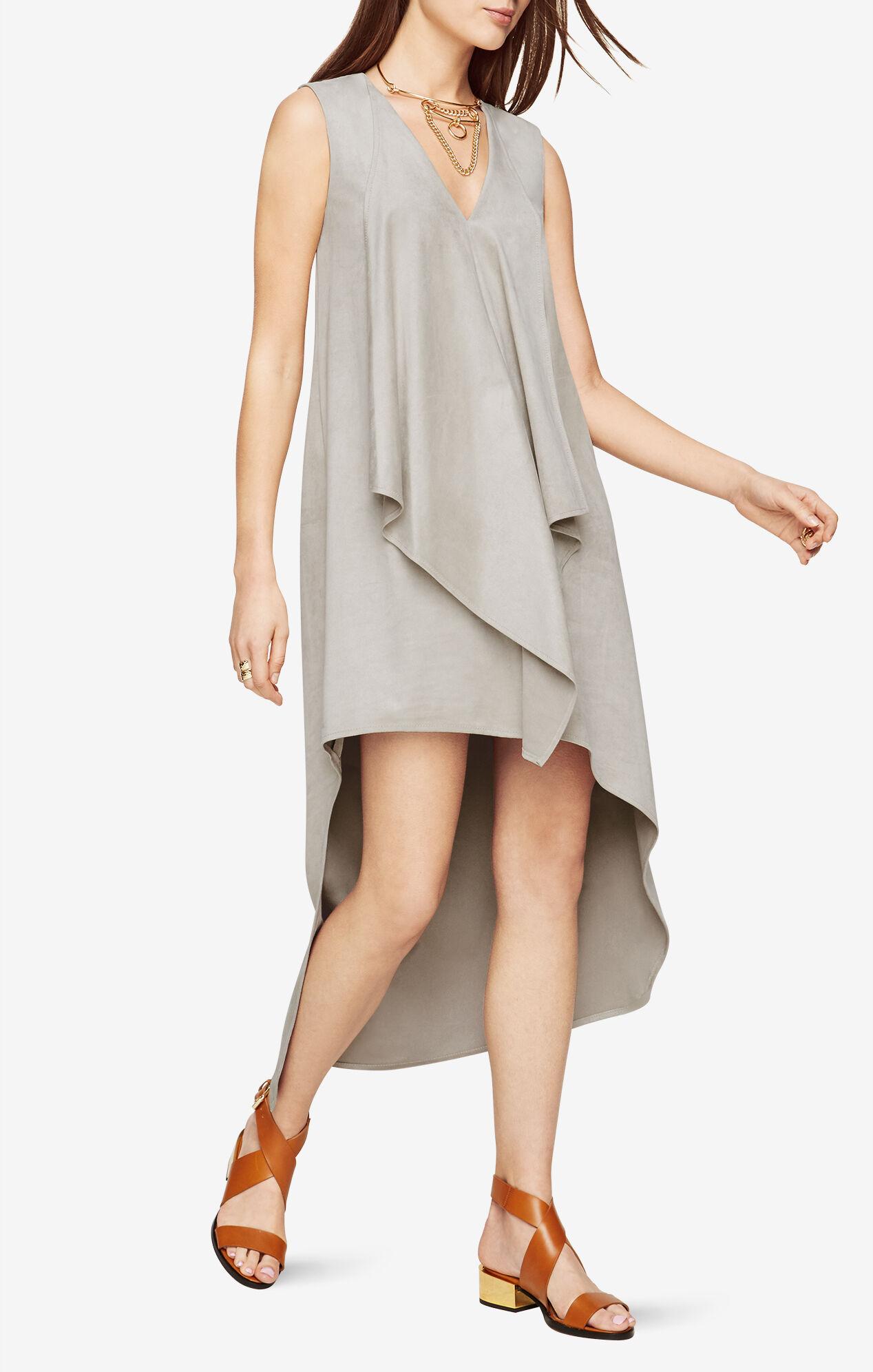 Tara Faux-Suede Dress