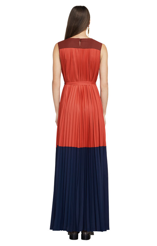 Adelaide Color-Blocked Gown