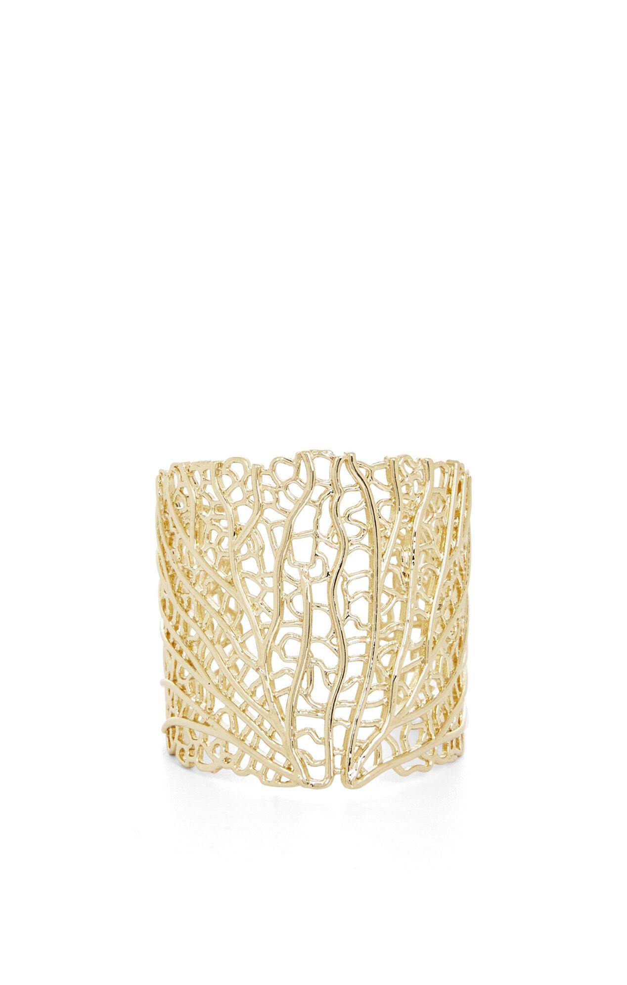 Coral Filigree Cuff
