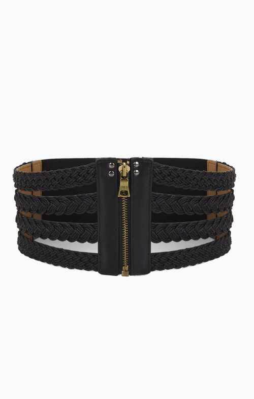 Braided Cord Cage Belt