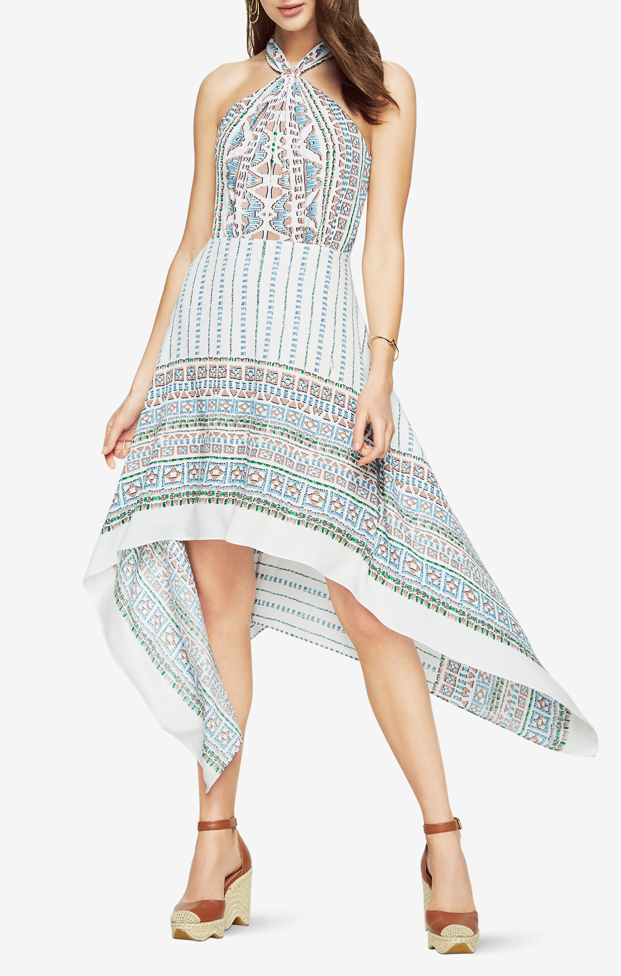 Danela Halter Scarf Dress