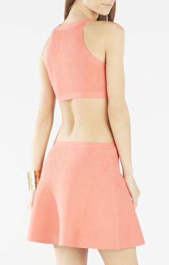 Alora Jacquard A-line Dress