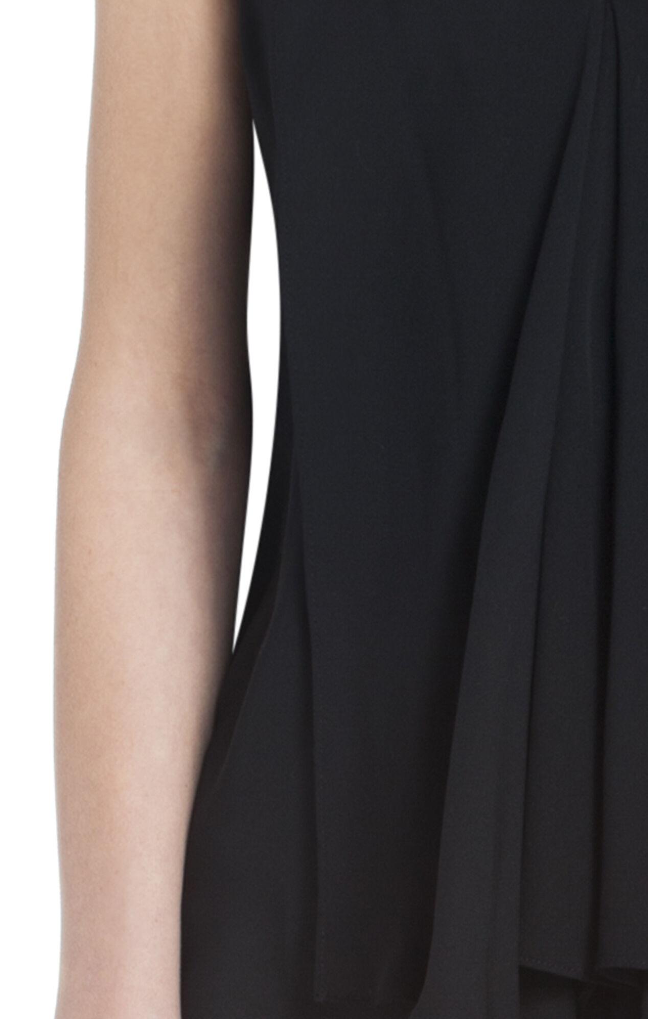 Cyprien Silk V-Neck Draped Top