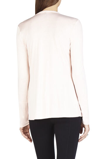 Eliana Long-Sleeve Twist Front Top