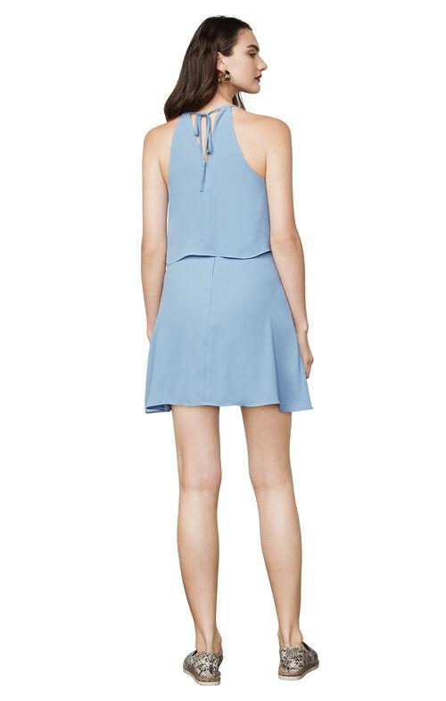 Caylan Ruffled Halter Dress