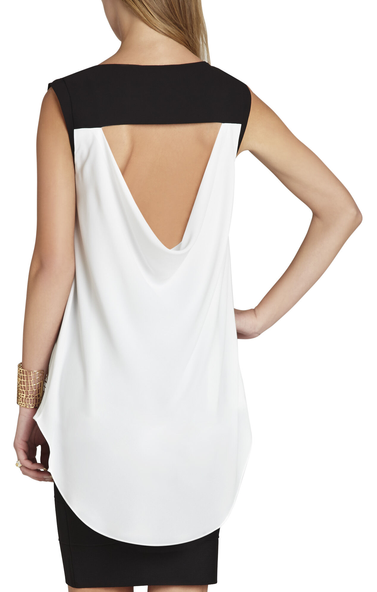 Uosa Sleeveless Asymmetrical Top