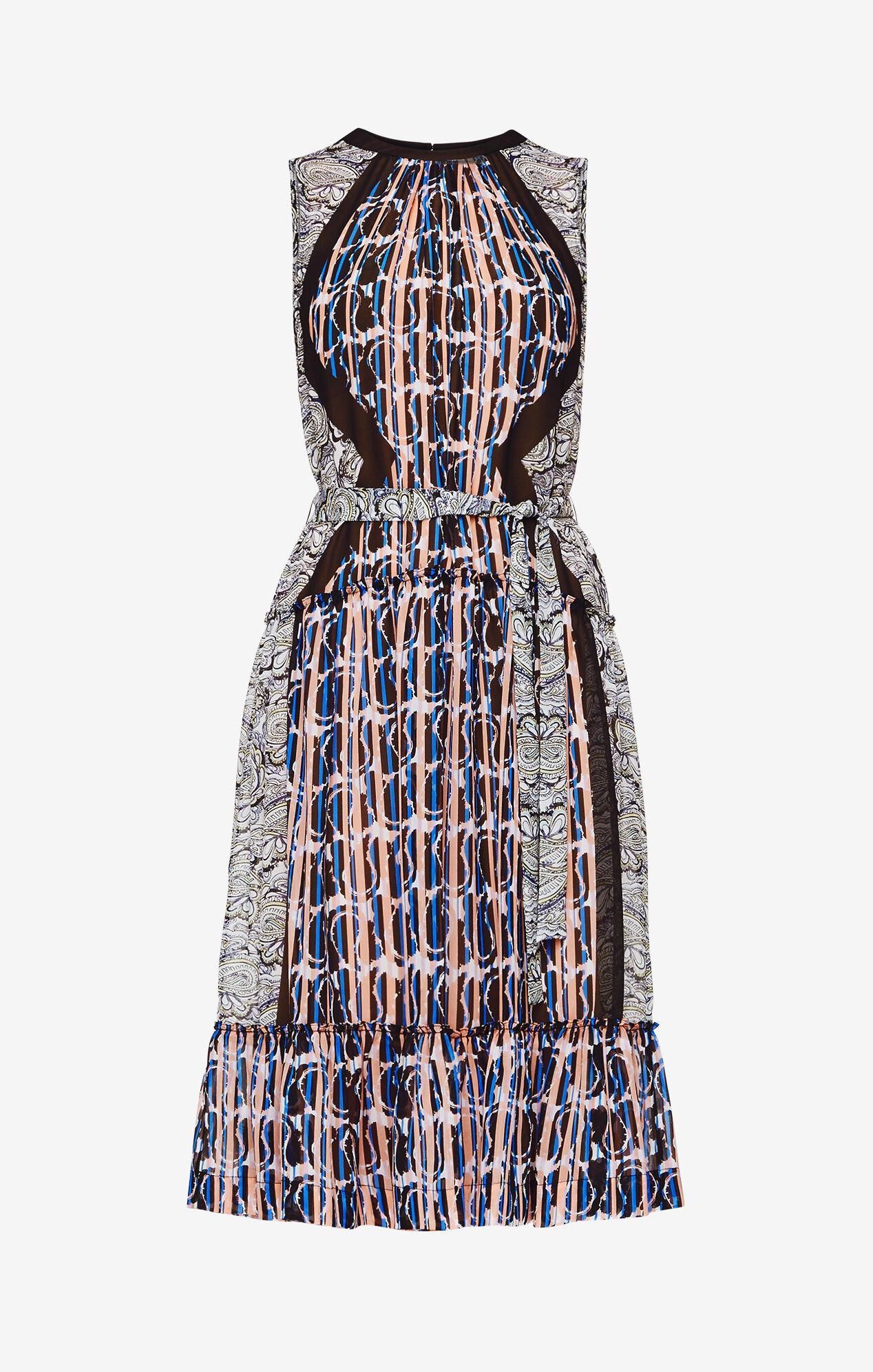 Kirbie Paisley Print Dress