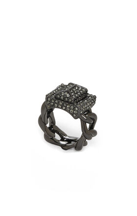 Signature Pave Turn-Lock Ring
