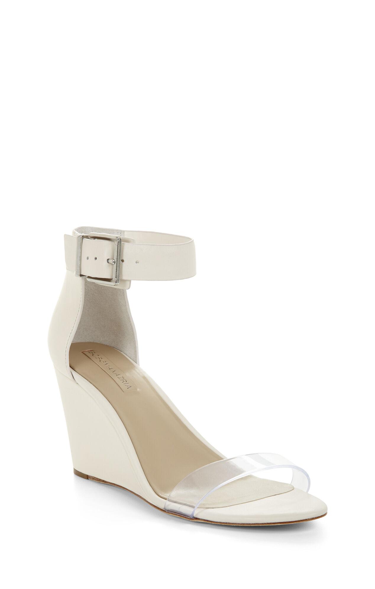 Latch Wedge Sandal