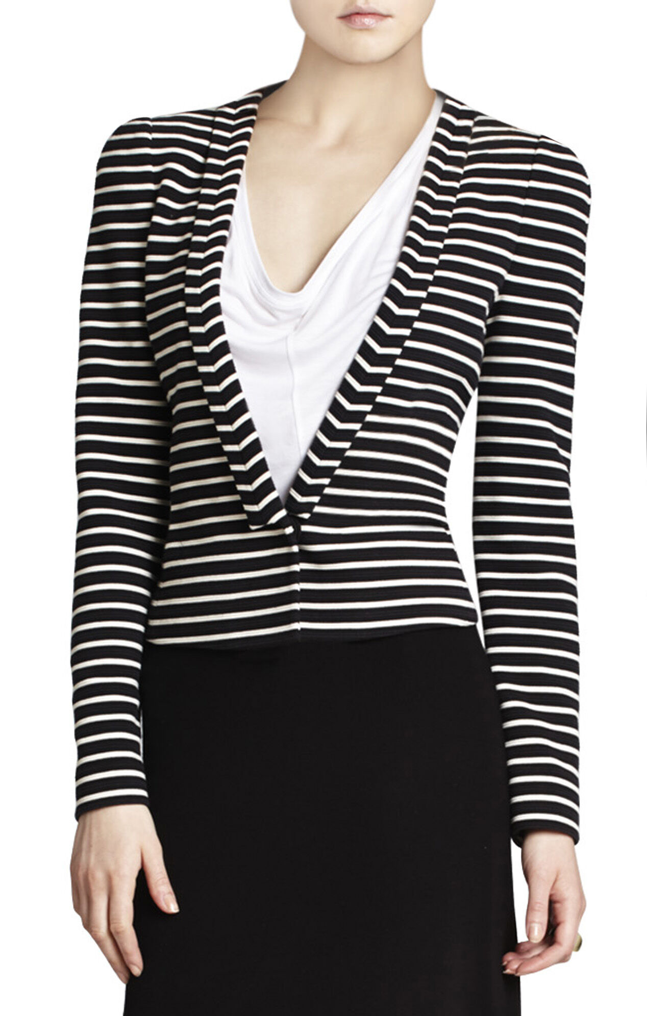 Hendrix Striped Ottoman Jacket