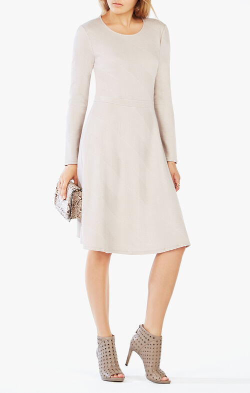 Tanisha Long-Sleeve Dress