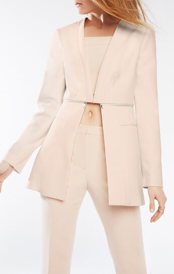 Derek Zip-Waist Blazer