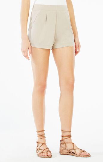 Maleah Pleated Jersey Short