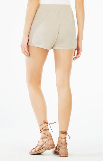 Maleah Pleated Jersey Short
