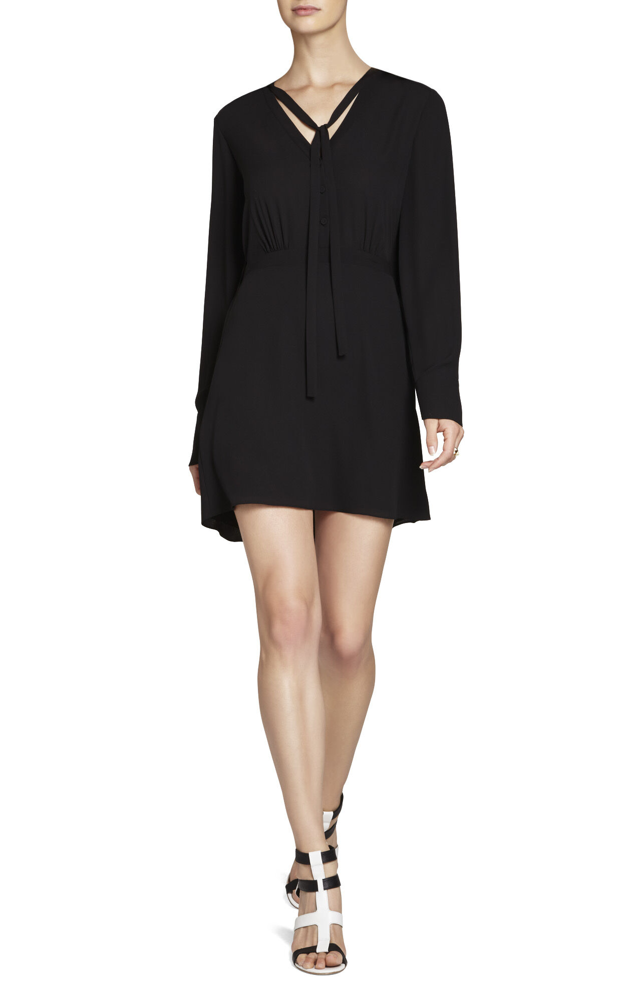 Lani Long-Sleeve Blouse Dress