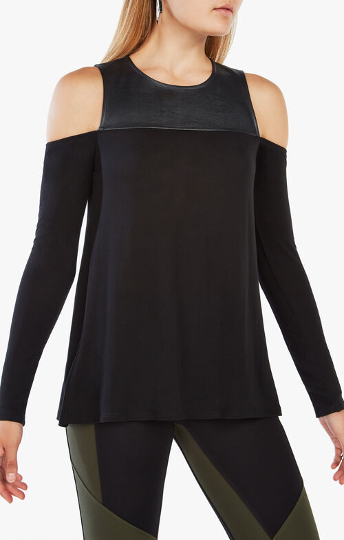 Shelly Cold-Shoulder Top