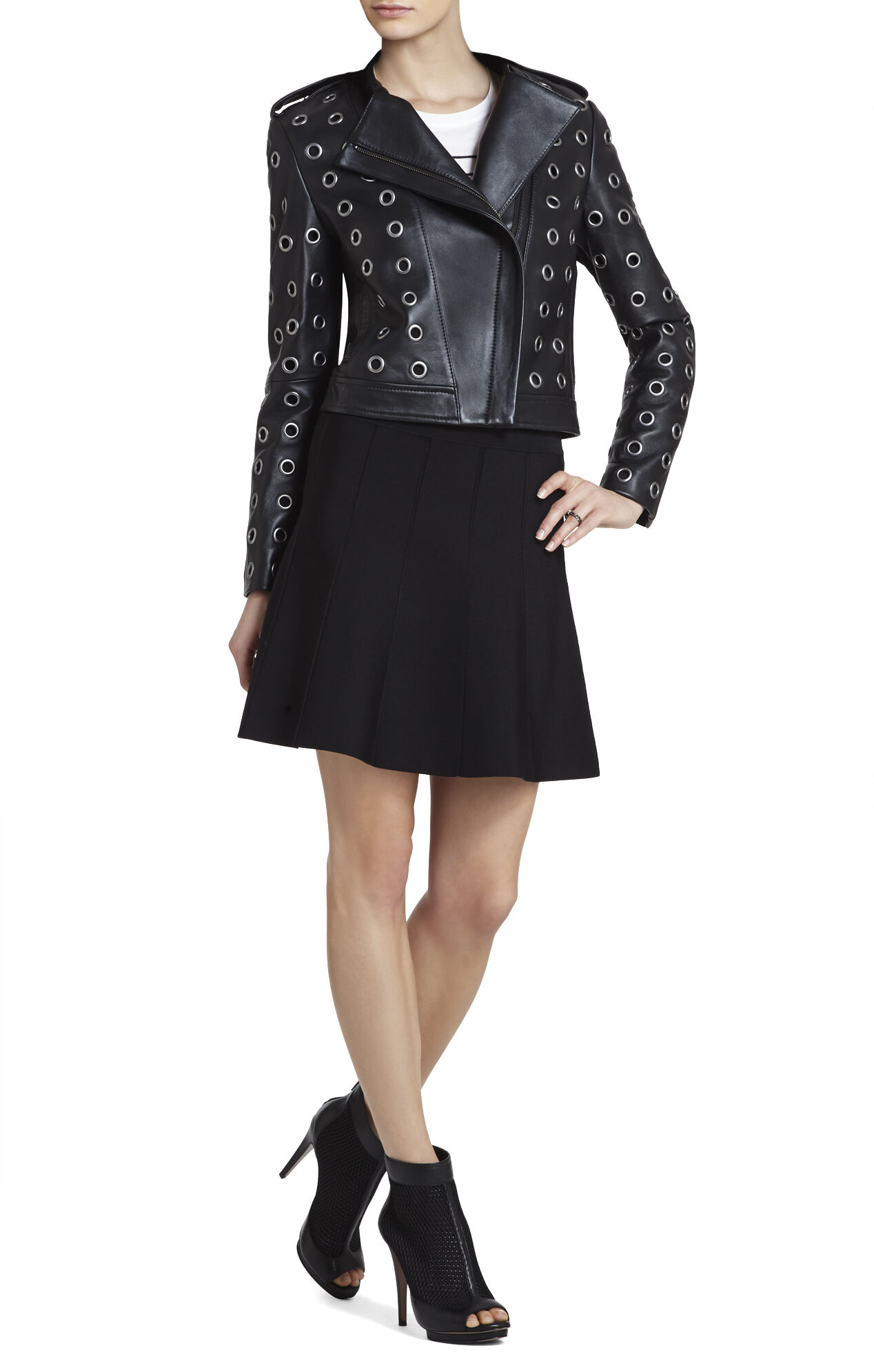 Baara Leather Moto Jacket