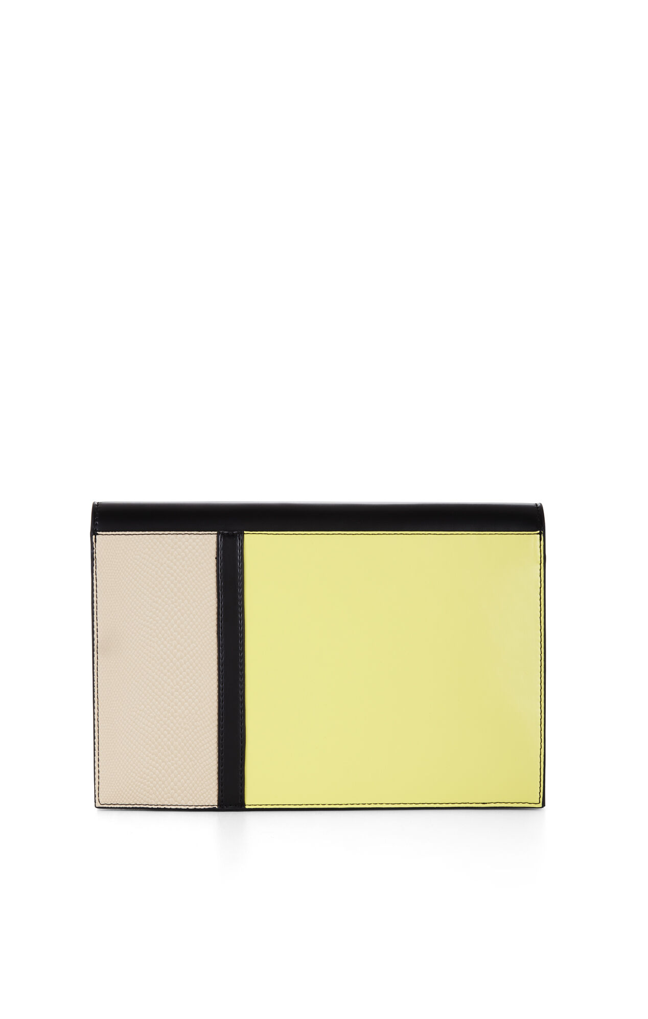Blocked Asymmetrical Envelope Clutch