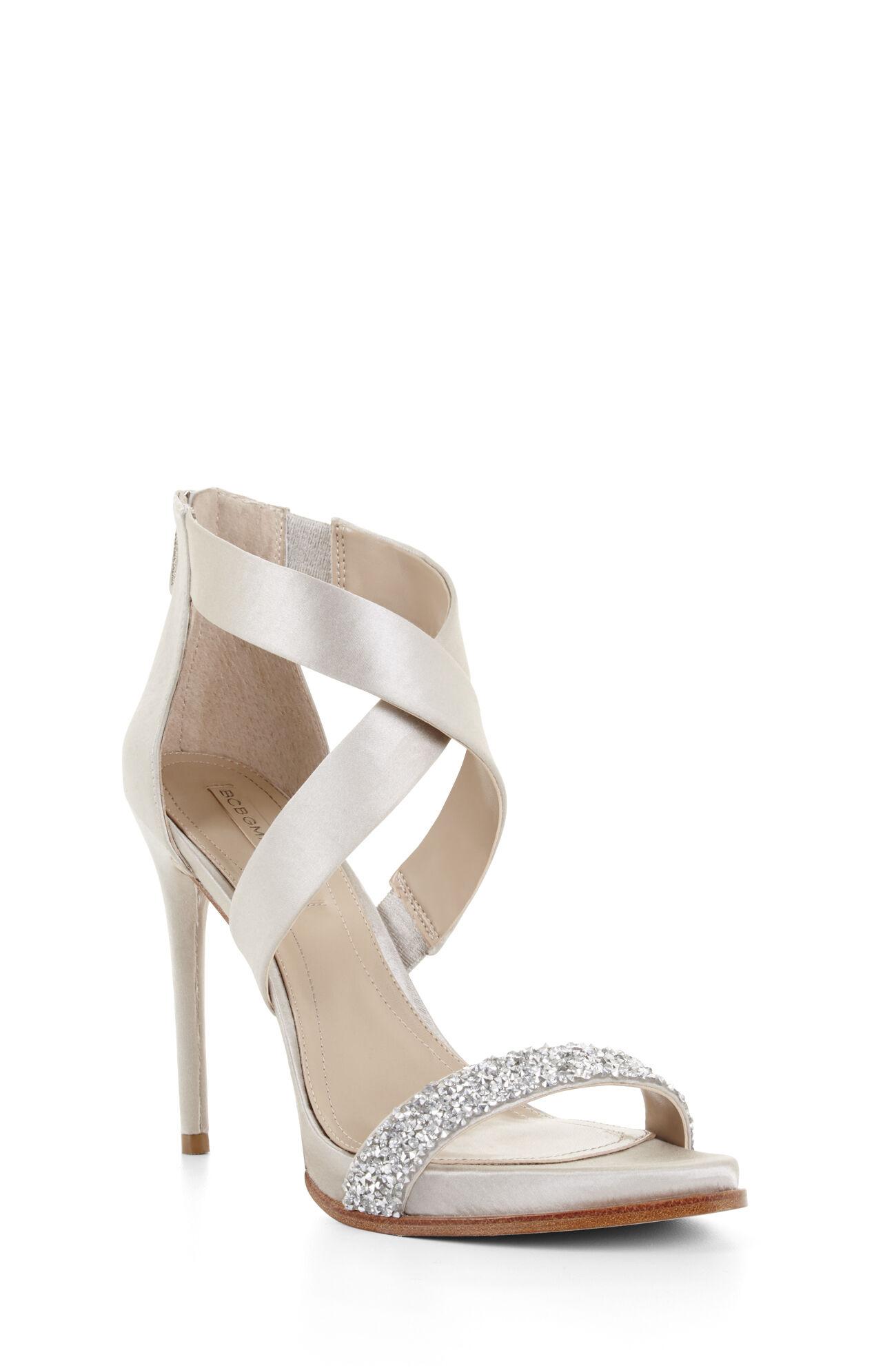Elyse High-Heel Crisscross Ankle Day Sandal